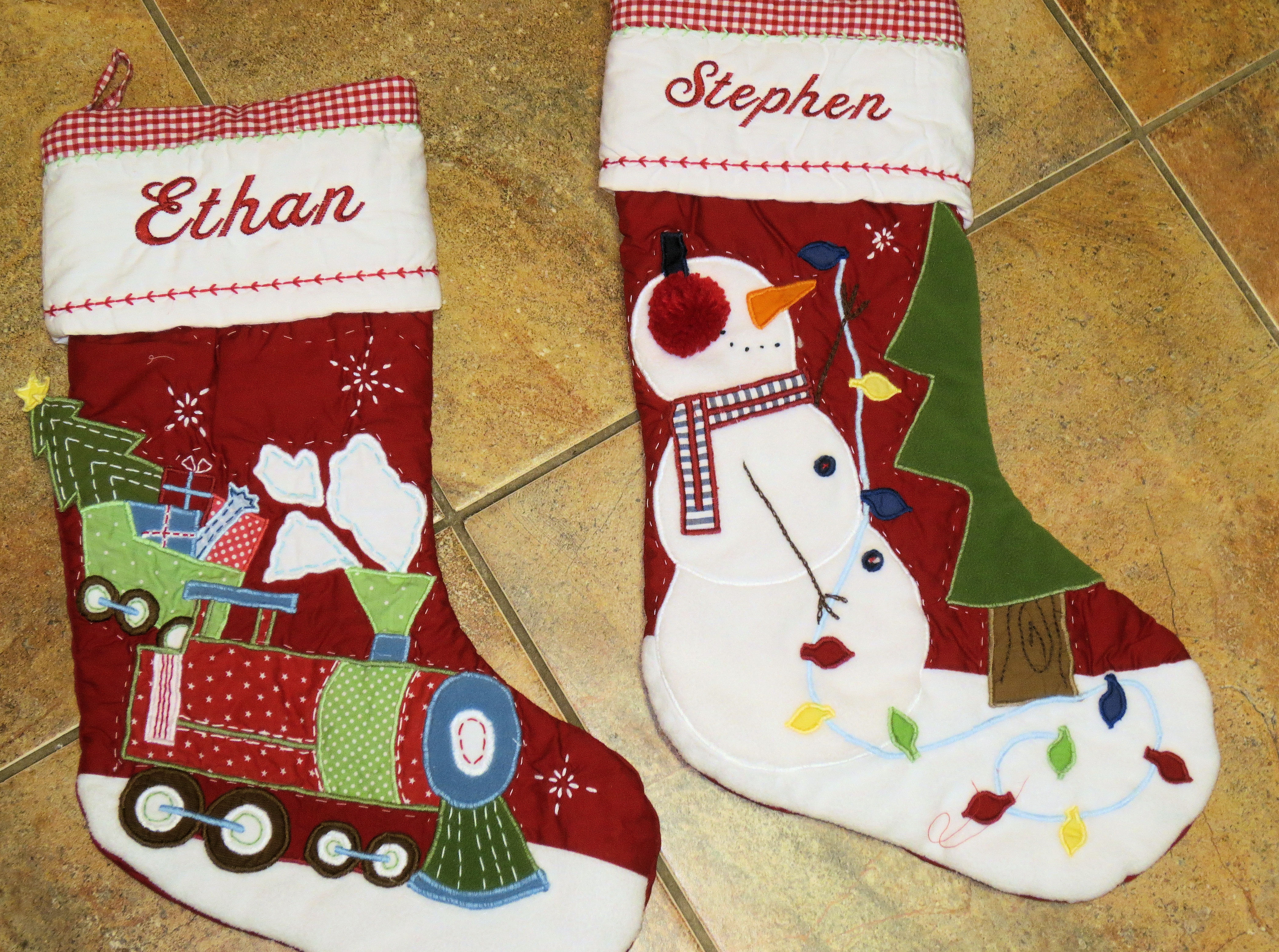 christmas stockings ever sew quickly
