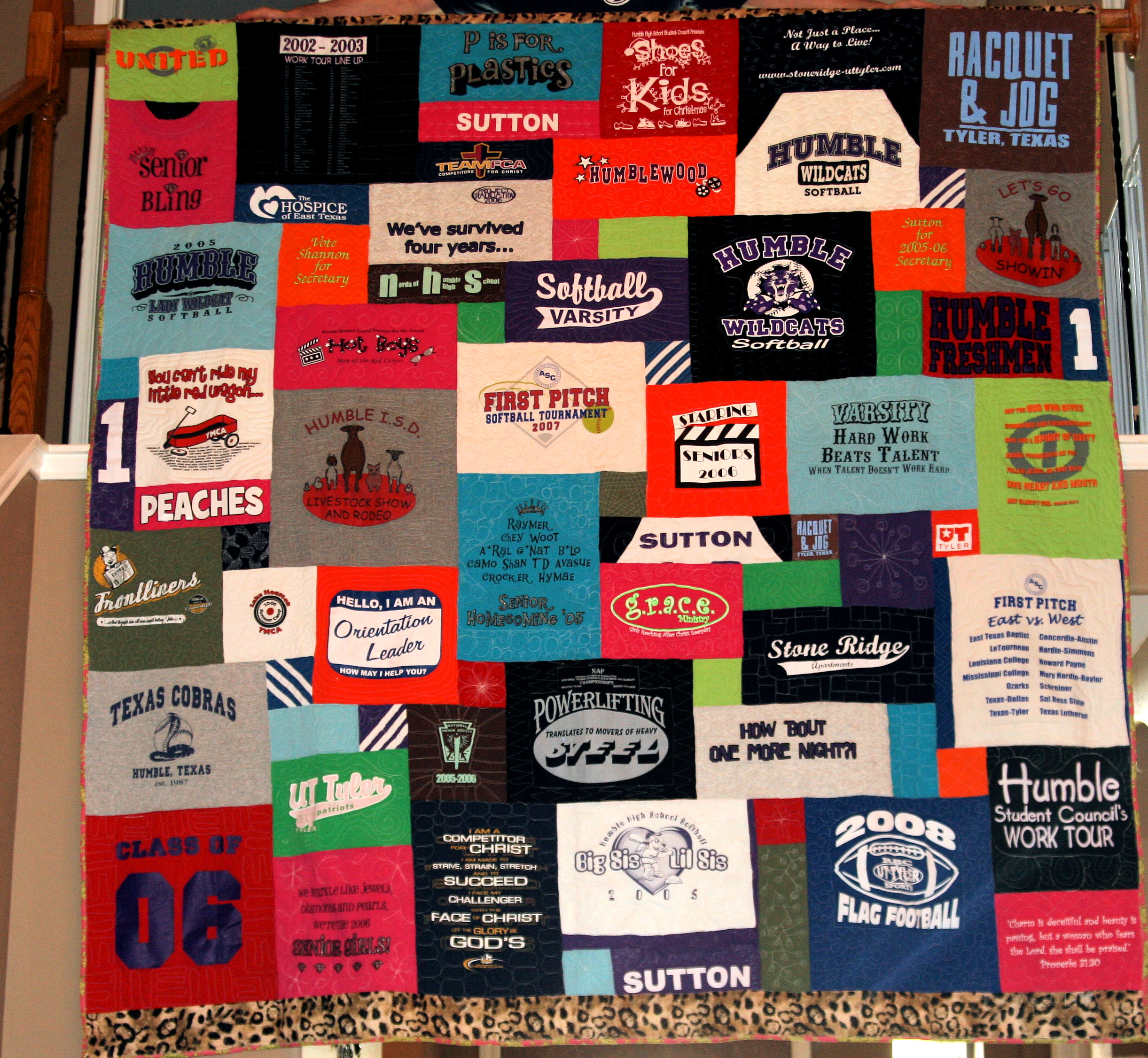 T-Shirt Quilt: Shannon – Ever Sew Quickly : t shirt quilt layout - Adamdwight.com