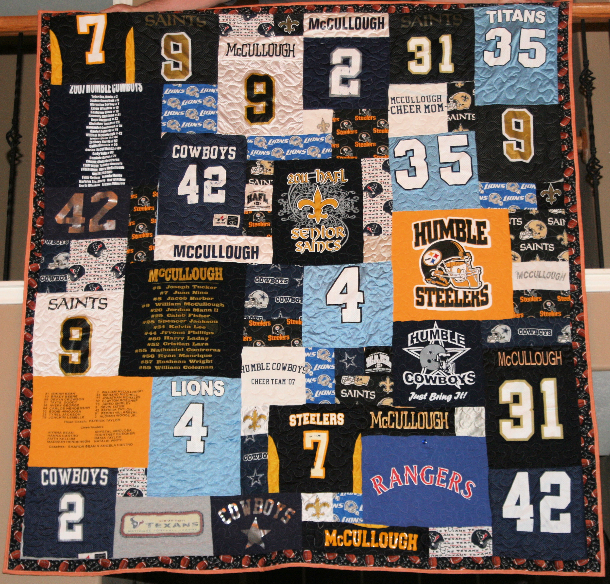 Jersey T-Shirt Quilt: For my Sister-In-Law Misty – Ever Sew Quickly : jersey quilt - Adamdwight.com